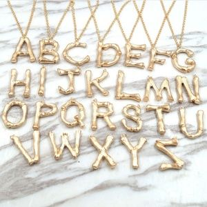 Jewelry - NEW Initial Alphabet Necklaceoicq99b